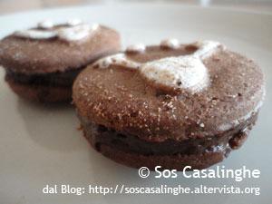 Ricetta Biscotti farciti alla crema di cioccolato