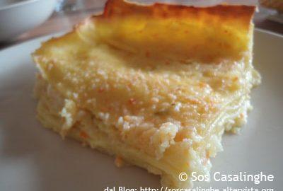 Ricetta lasagne con verdure