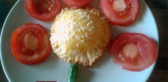 Ricetta Fiori con Petali ai Pomodori