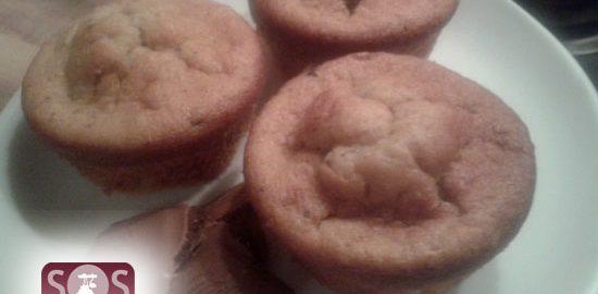 Ricetta Muffin alla banana con scaglie di cioccolato