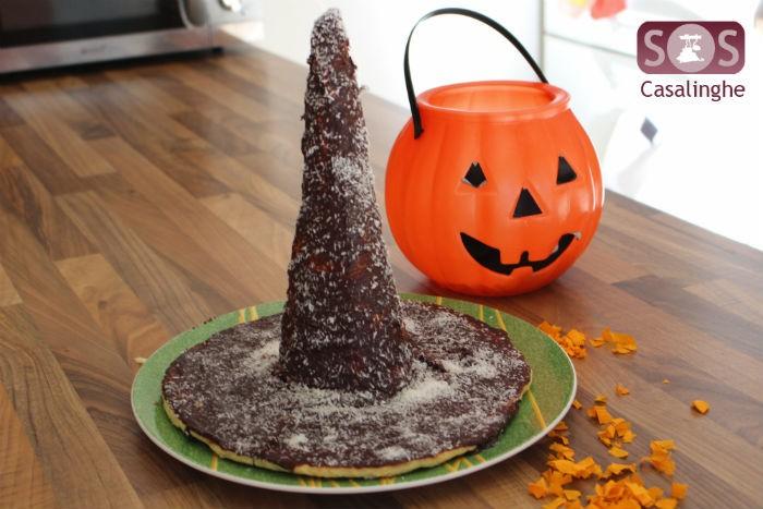 Torta Cappello da Strega per Halloween