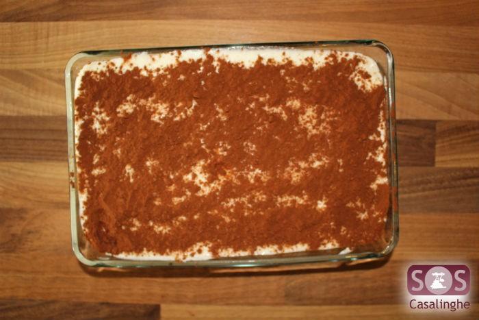 Tiramisù con cacao